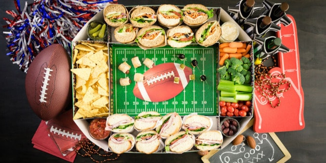 comida para ver la NFL 2021