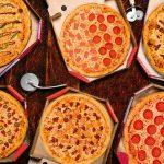 pizzas en cajas